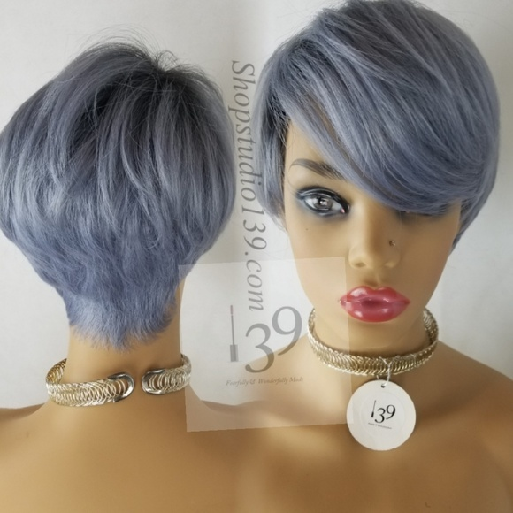 Gorgeous short and sassy custom colored wig